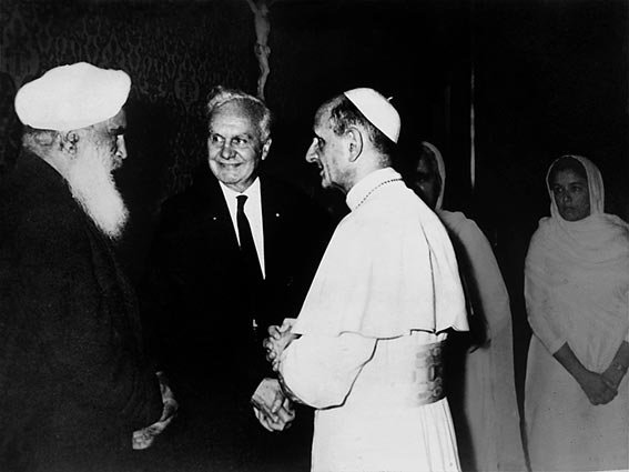 Sant Kirpal Singh, Italy, Rome, 1963