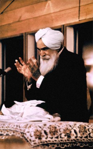 Sant Kirpal Singh, California, October 1972