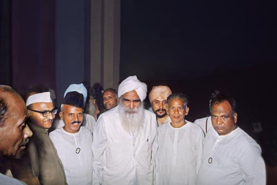 Sant Kirpal Singh at Vigyan Bhawan, Delhi, August 1973